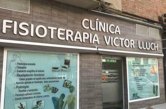 Vista exterior de la cínica de fisioterapia en Málaga Victor Lluch